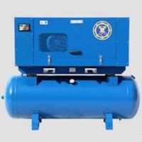 Ременной привод, мощность 7,5-18,5 кВт, производительность до 2,5 м3/мин