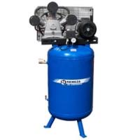 Поршневые компрессоры с ременным приводом на вертикальном ресивере (420-1400 л/мин), (мощность 2,2-7,5))